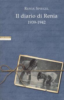 Il diario di Renia 1939-1942 - Renia Spiegel - copertina
