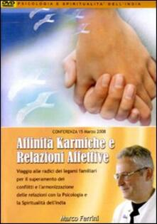Affinità karmiche e relazioni familiari. Audiolibro. CD Audio formato MP3 - Marco Ferrini - copertina