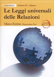 Le leggi universali delle relazioni. La ricerca di armonia nelle relazioni. CD Audio formato MP3 - Marco Ferrini - copertina