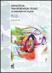 Advances in transportation studies. An international journal (2005). Vol. 6