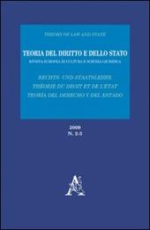 Teoria del diritto e dello Stato. Rivista europea di cultura e scienza giuridica