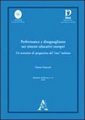 Performance e disuguaglianze nei sistemi educativi europei. Un tentativo di spiegazione del «caso» italiano