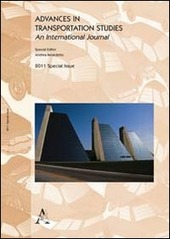 Advances in transportation studies. Special issue 2011