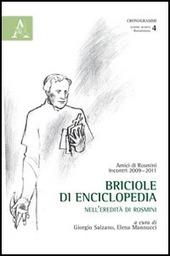 Briciole di enciclopedia. Nell'eredità di Rosmini