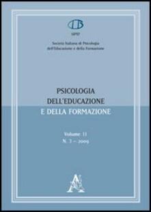 Psicologia dell'educazione e della formazione (2009). Vol. 11 - copertina