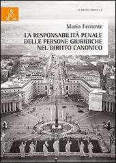 La responsabilità penale delle persone giuridiche nel diritto canonico