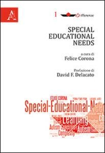Foto Cover di Special educational needs, Libro di  edito da Aracne