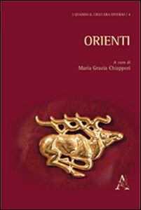 Foto Cover di Orienti, Libro di M. Grazia Chiappori, edito da Aracne