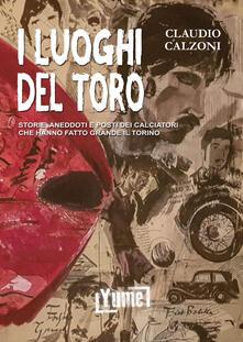 I luoghi del toro. Storie, aneddoti e posti dei calciatori che hanno fatto grande il Torino - Claudio Calzoni - copertina