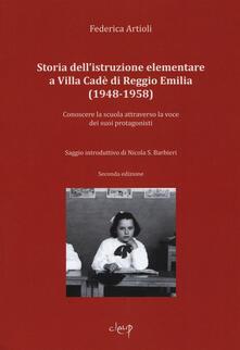 Voluntariadobaleares2014.es Storia dell'istruzione elementare a Villa Cadé di Reggio Emilia (1948-1958). Conoscere la scuola attraverso la voce dei suoi protagonisti Image