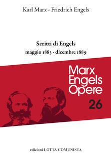 Ristorantezintonio.it Opere complete. Vol. 26: Scritti maggio 1883-dicembre 1889. Image