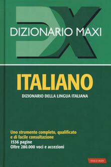 Warholgenova.it Dizionario maxi. Italiano Image