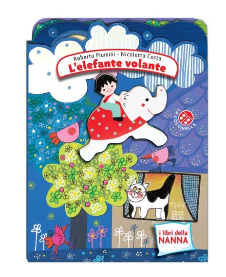 L' elefante volante. Ediz. a colori - Nicoletta Costa,Roberto Piumini - copertina