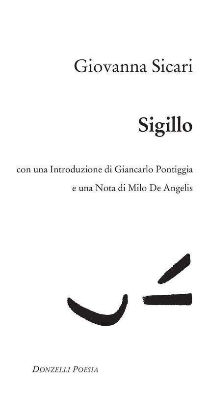Sigillo - Giovanna Sicari - ebook