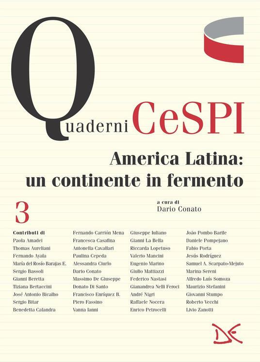 America Latina: un continente in fermento - Dario Conato - ebook