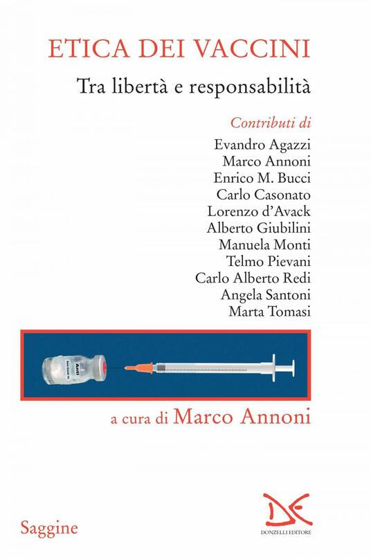 Etica dei vaccini. Tra libertà e responsabilità - Marco Annoni - ebook