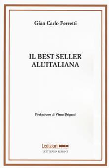 Steamcon.it Il best seller all'italiana. Fortune e formule del romanzo «di qualità» Image
