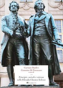 Principio, metodo e sistema nella filosofia classica tedesca - copertina