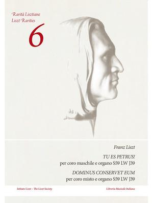 Tu es Petrus! Per coro maschile e organo S59 LW J39-Dominus conservet eum. Per coro misto e organo S59 LW J39. Partitura
