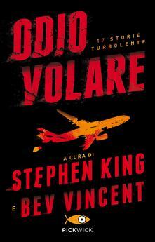 Odio volare. 17 storie turbolente - copertina