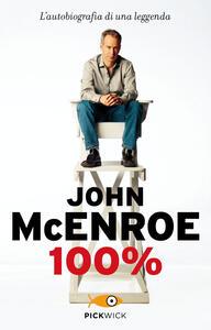 Libro 100% John McEnroe
