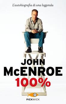 100% - John McEnroe - copertina