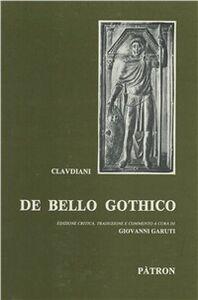 Libro De bello gothico Claudio Claudiano