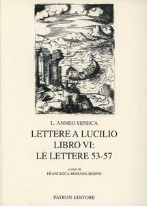 Lettere a Lucilio. Libro 6°: le lettere 53-57