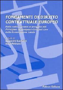 Fondamenti di diritto contrattuale europeo