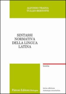 Nicocaradonna.it Sintassi normativa della lingua latina. Teoria (rist. anast.) Image