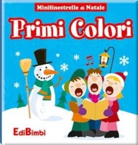 Libro Primi colori