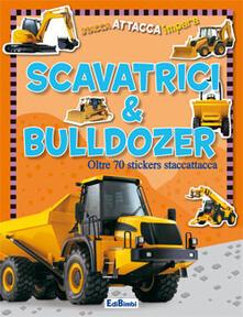 Amatigota.it Scavatrici & bulldozer. Con adesivi Image