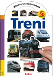 Treni. Con stickers