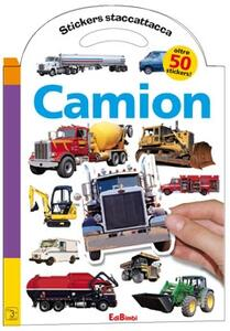 Camion. Con stickers