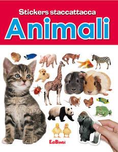 Animali. Con adesivi