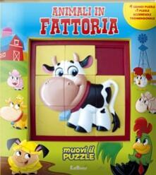 Rallydeicolliscaligeri.it Animali in fattoria. Libro puzzle Image