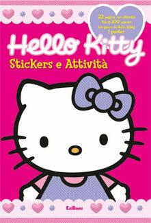 Associazionelabirinto.it Hello Kitty. Stickers e attività Image
