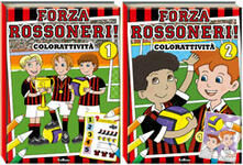 Osteriacasadimare.it Forza rossoneri. Color attività vol. 1-2. Ediz. illustrata Image