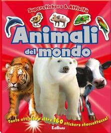 Squillogame.it Animali del mondo. Superstickers e attività Image