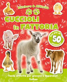 Camfeed.it Cuccioli in fattoria. Con adesivi Image