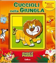 Amatigota.it Cuccioli nella giungla. Libro puzzle Image