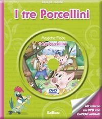 I I tre porcellini. Con DVD - Jacobs Joseph - wuz.it
