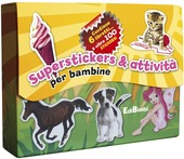 Superstickers & attivita per bambine. Con adesivi
