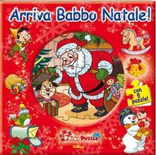 Premioquesti.it Arriva Babbo Natale! Libro puzzle Image