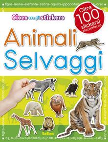 Premioquesti.it Animali selvaggi. Con adesivi Image