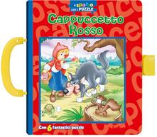 Mercatinidinataletorino.it Cappuccetto Rosso. A spasso con i puzzle. Libro puzzle Image
