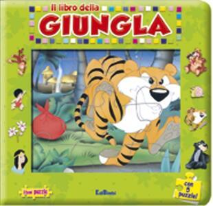 Il libro della giungla. Con 5 puzzle