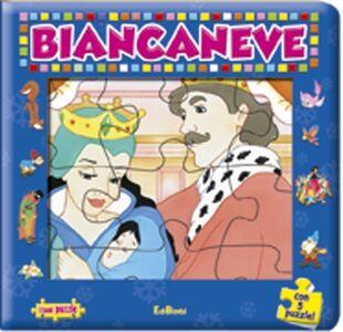 Foto Cover di Biancaneve. Con 5 puzzle, Libro di  edito da Edibimbi