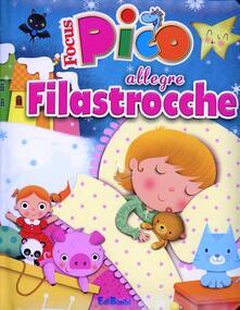 Antondemarirreguera.es Allegre filastrocche. Focus Pico. Ediz. illustrata Image