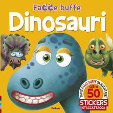 Librisulladiversita.it Dinosauri. Facce buffe. Con adesivi Image